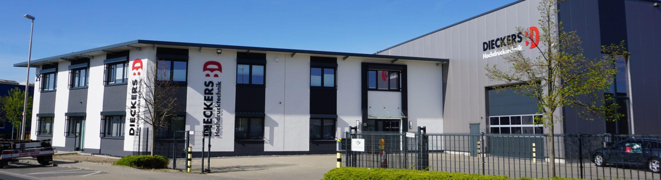 Abbildung Firmengebäude Dieckers